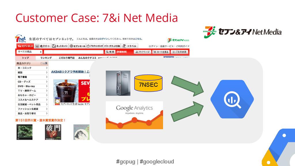 #gcpug | #googlecloud Customer Case: 7&i Net Me...