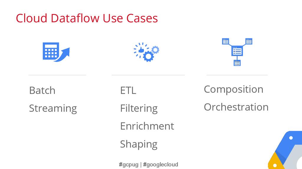 #gcpug | #googlecloud ETL Filtering Enrichment ...