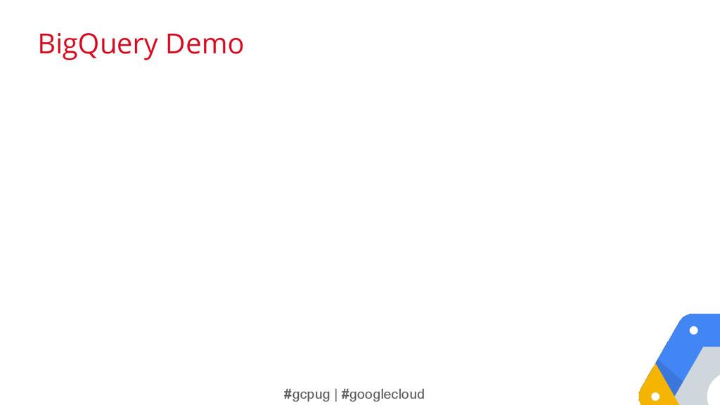 #gcpug | #googlecloud BigQuery Demo