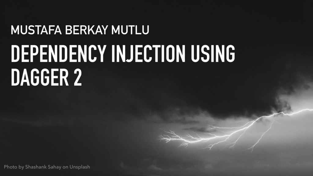 DEPENDENCY INJECTION USING 