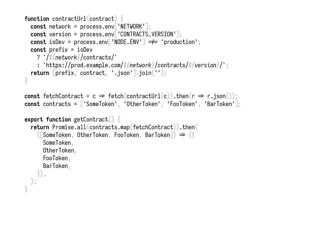function contractUrl(contract) { const network ...