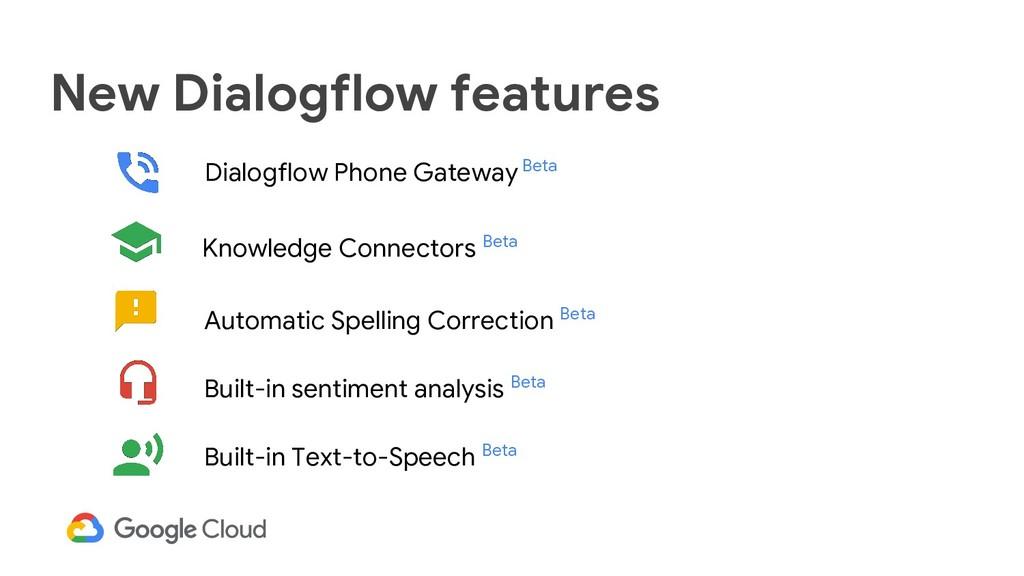 New Dialogflow features Dialogflow Phone Gatewa...