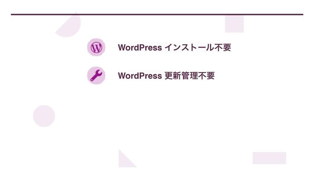WordPress Πϯετʔϧෆཁ WordPress ߋ৽ཧෆཁ