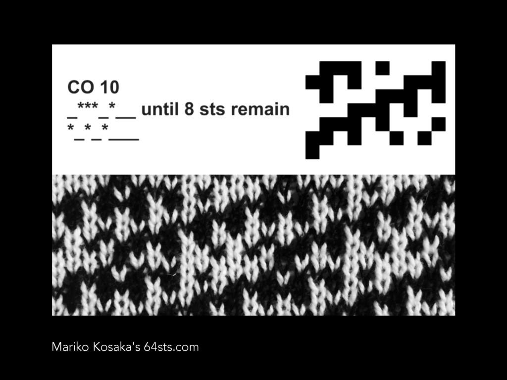 Mariko Kosaka's 64sts.com