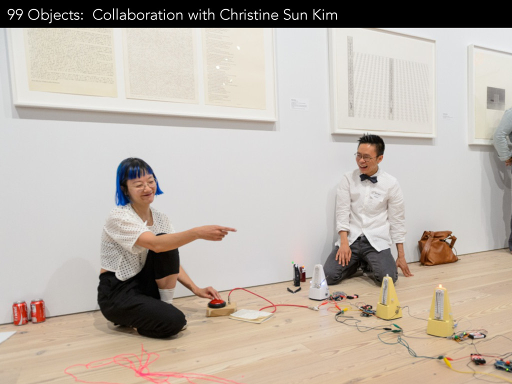 99 Objects: Collaboration with Christine Sun Kim