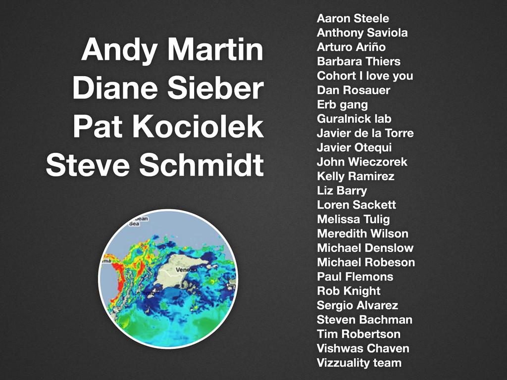 Andy Martin Diane Sieber Pat Kociolek Steve Sch...