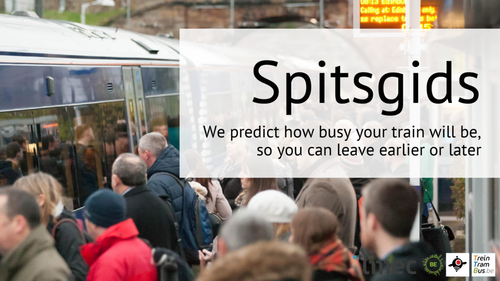 Spitsgids We predict how busy your train will b...