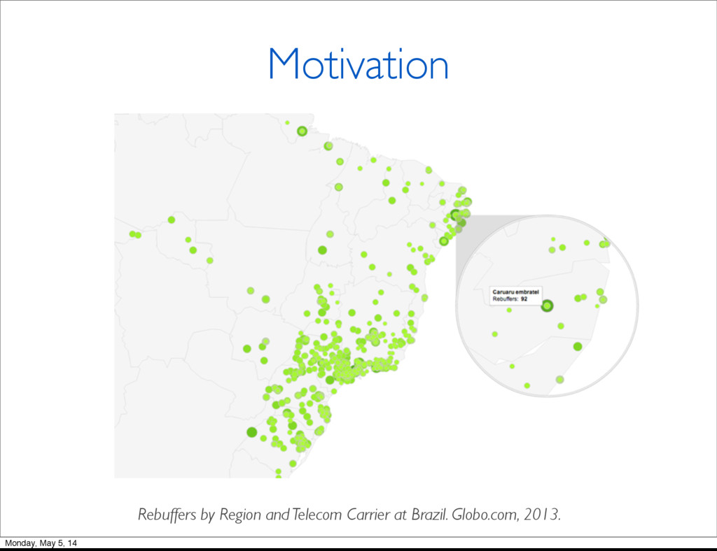 Motivation Rebuffers by Region and Telecom Carr...
