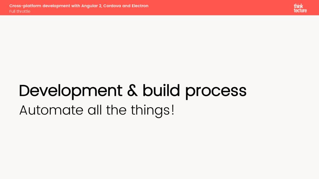 Cross-platform development with Angular 2, Cord...