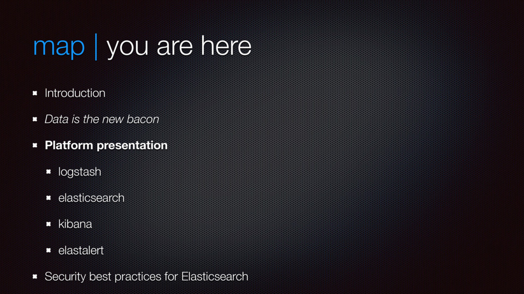 map | you are here Introduction Data is the new...