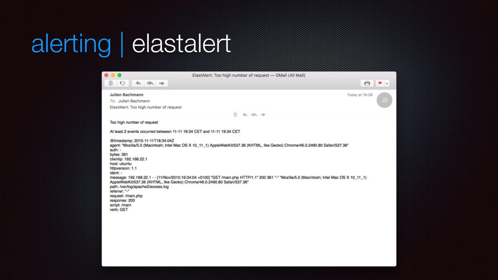alerting | elastalert