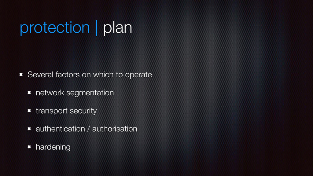 protection | plan Several factors on which to o...