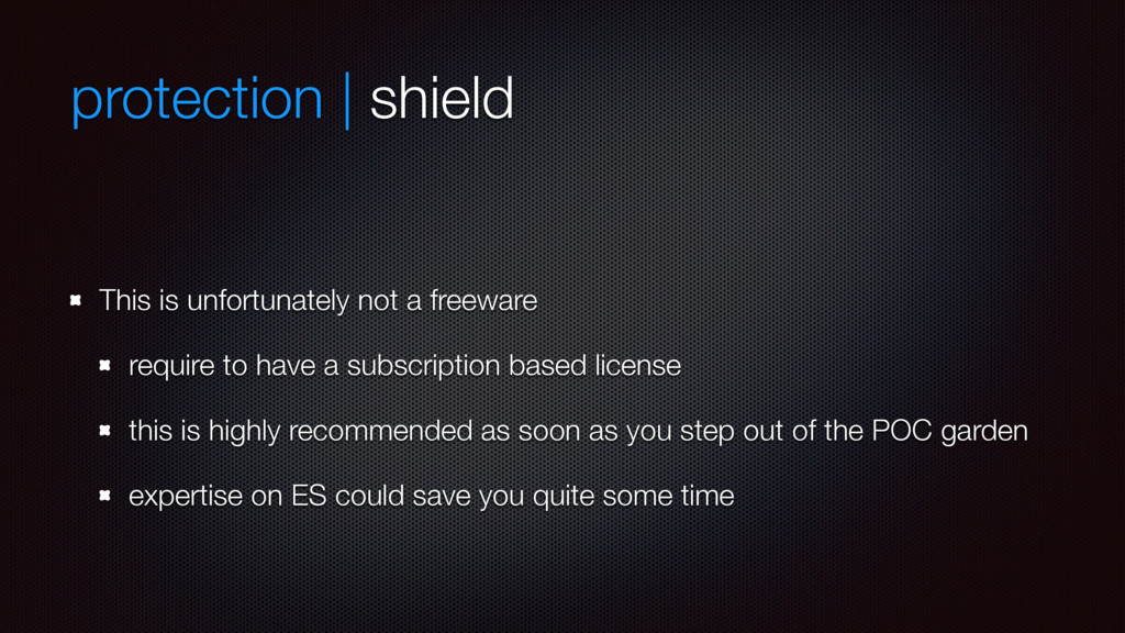 protection | shield This is unfortunately not a...