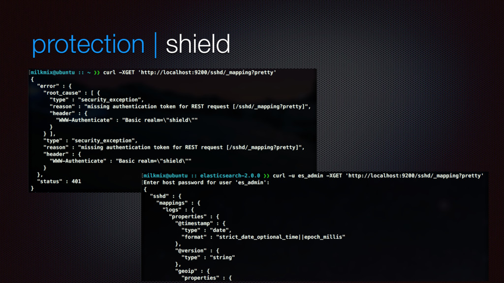 protection | shield