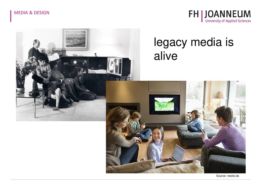 MEDIA & DESIGN legacy media is alive Source: ne...