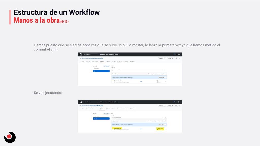 Estructura de un Workflow Manos a la obra(6/13)...