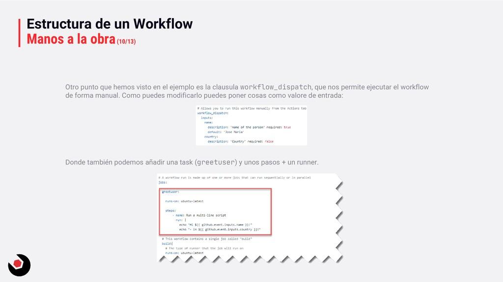 Estructura de un Workflow Manos a la obra(10/13...