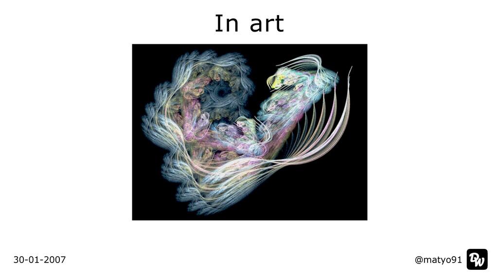 In art @matyo91 30-01-2007