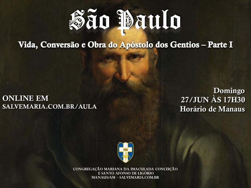 ONLINE EM SALVEMARIA.COM.BR/AULA Domingo 27/JUN...