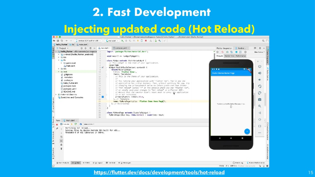 Injecting updated code (Hot Reload) https://flut...