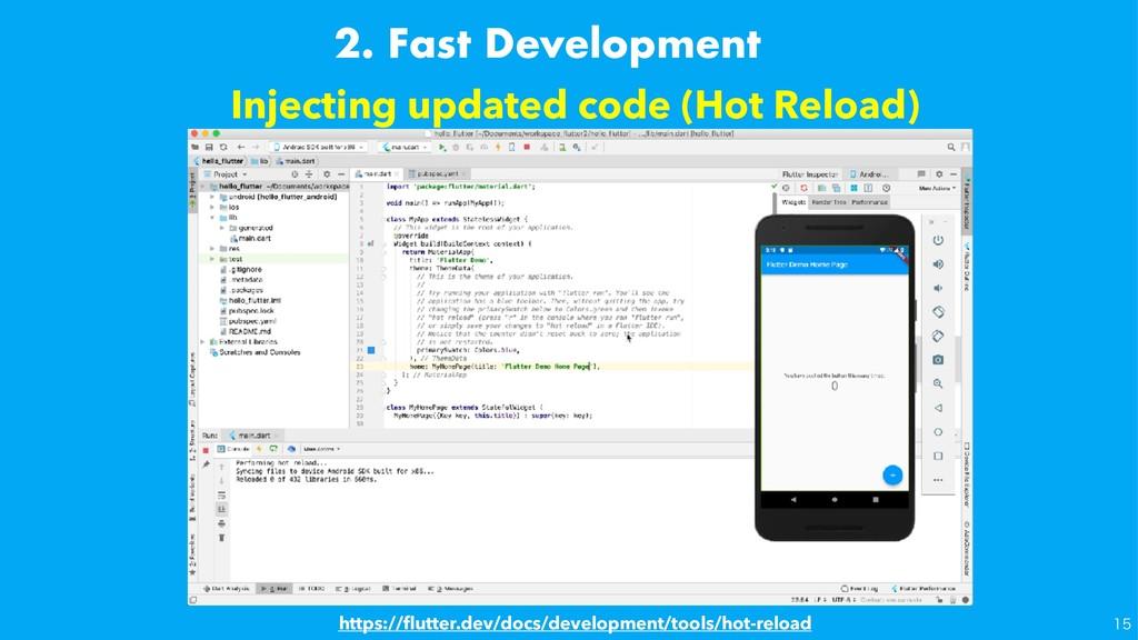 Injecting updated code (Hot Reload) https://flut...