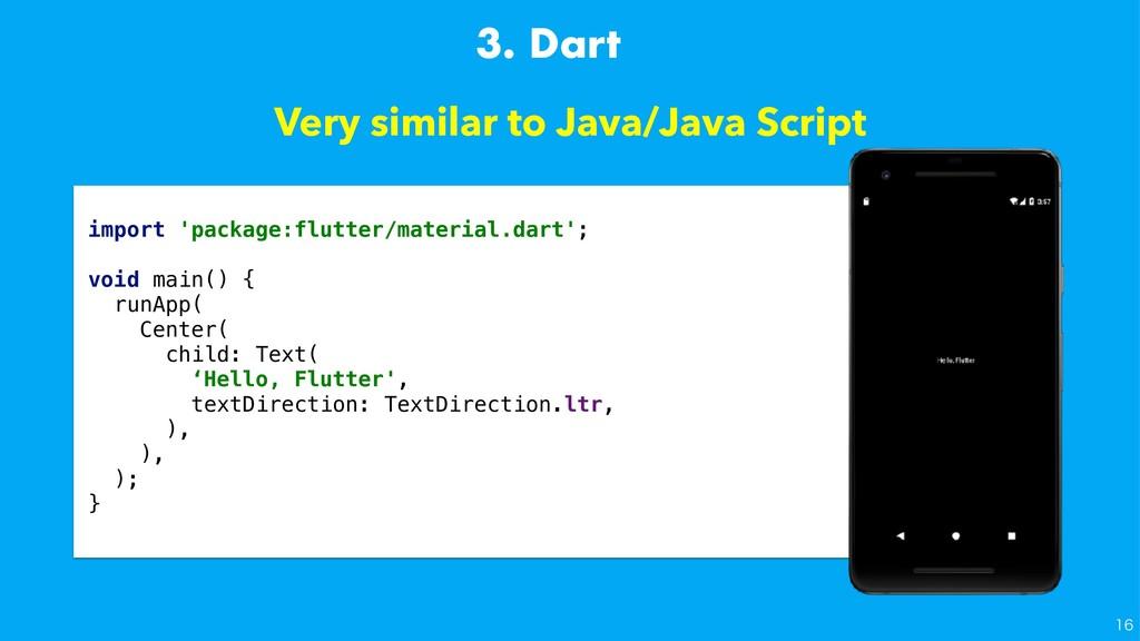 Very similar to Java/Java Script import 'packag...