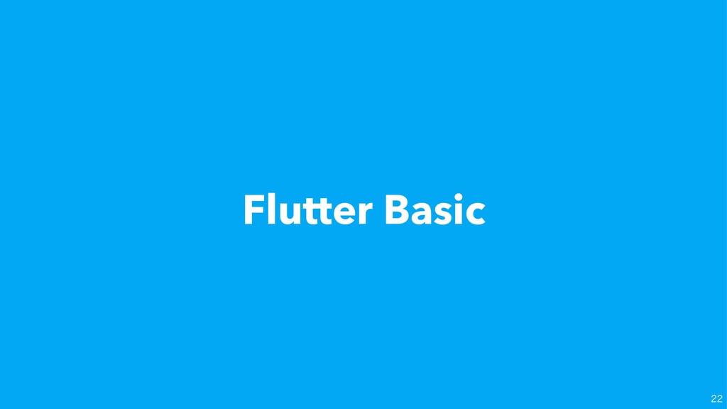 Flutter Basic