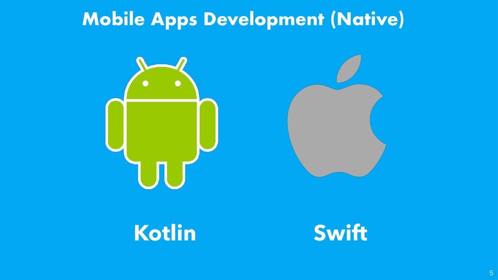 Mobile Apps Development (Native) Kotlin Swi...