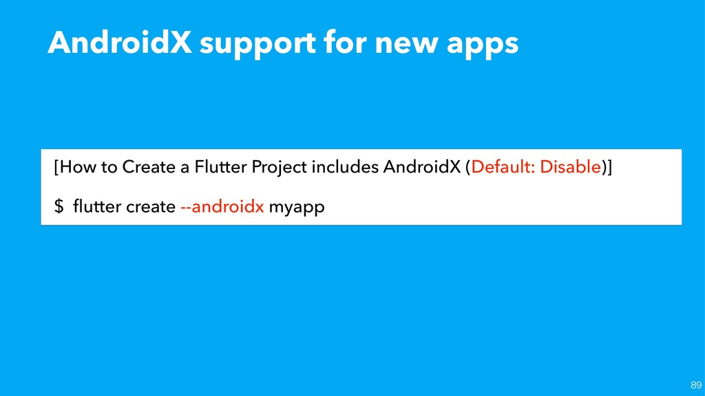 AndroidX support for new apps [How to Create a ...