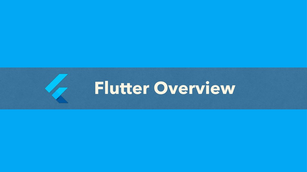 Flutter Overview