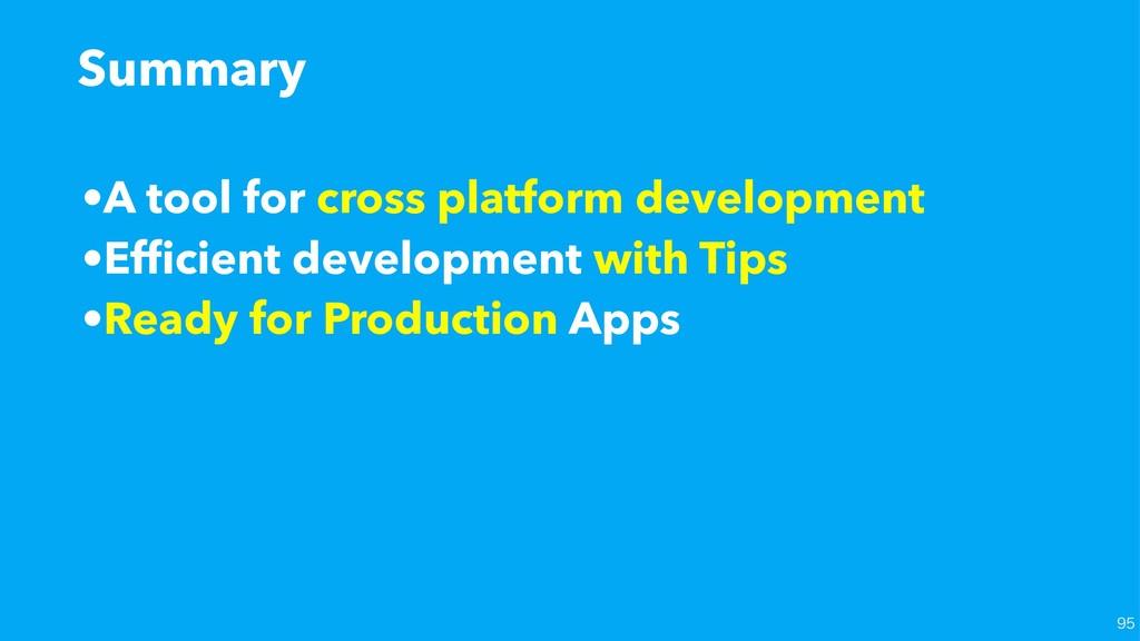 •A tool for cross platform development •Efficien...