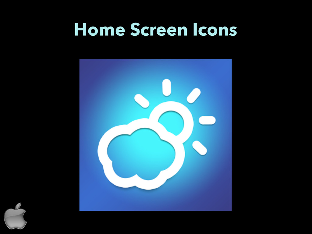 Home Screen Icons