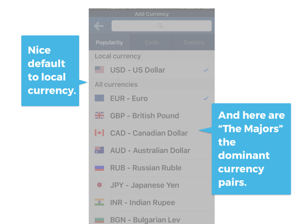 "Nice default to local currency. And here are ""T..."