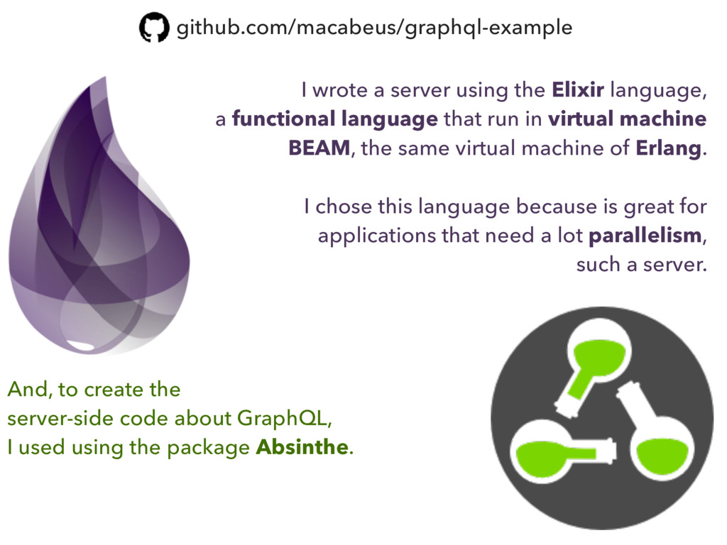 I wrote a server using the Elixir language, a f...
