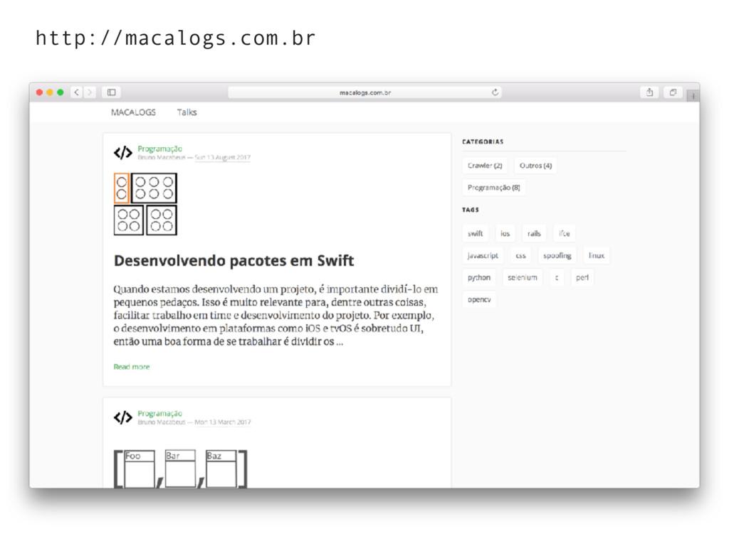http://macalogs.com.br