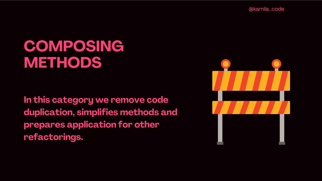 COMPOSING METHODS In this category we remove co...