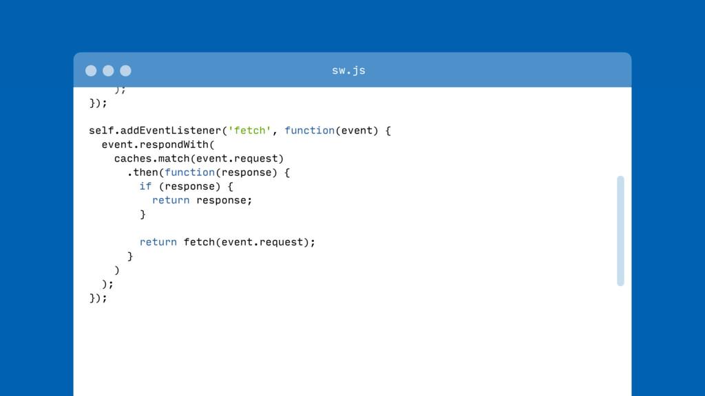 return cache.addAll([ '/index.html', '/styles/m...