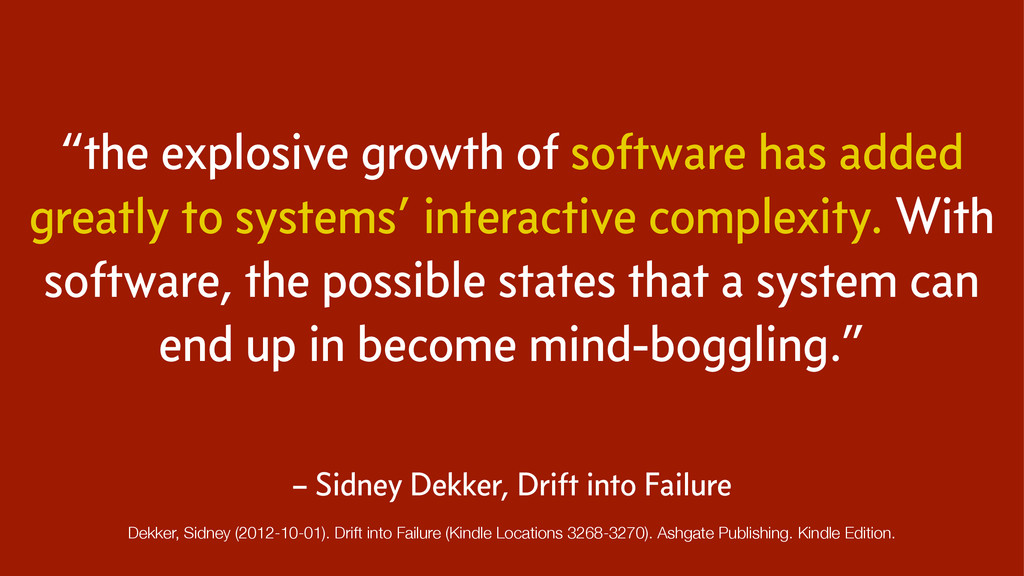 """the explosive growth of software has added gre..."