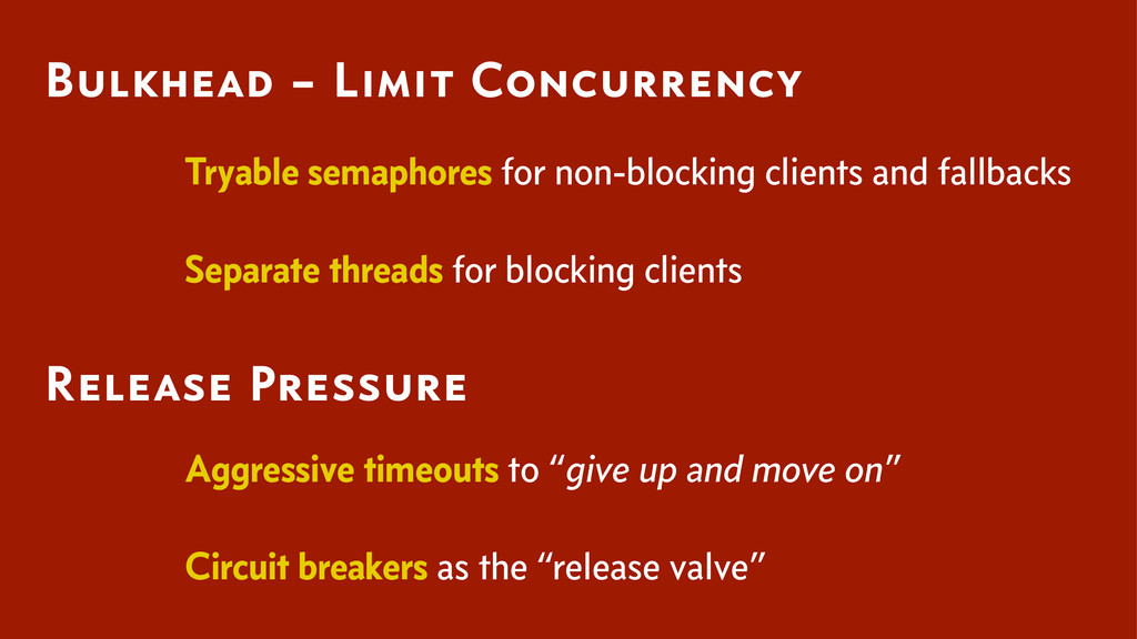 Tryable semaphores for non-blocking clients and...