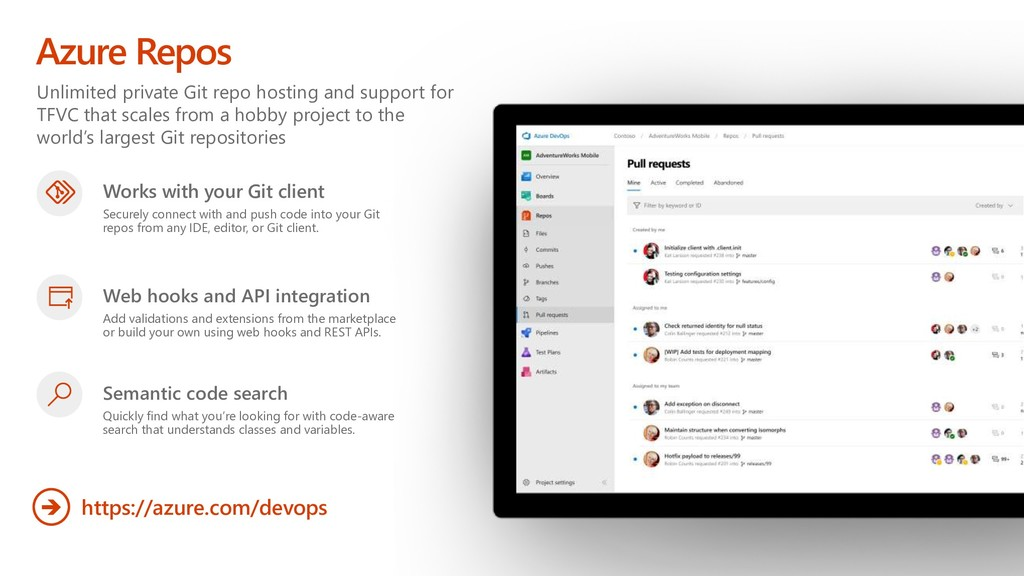 Unlimited private Git repo hosting and support ...