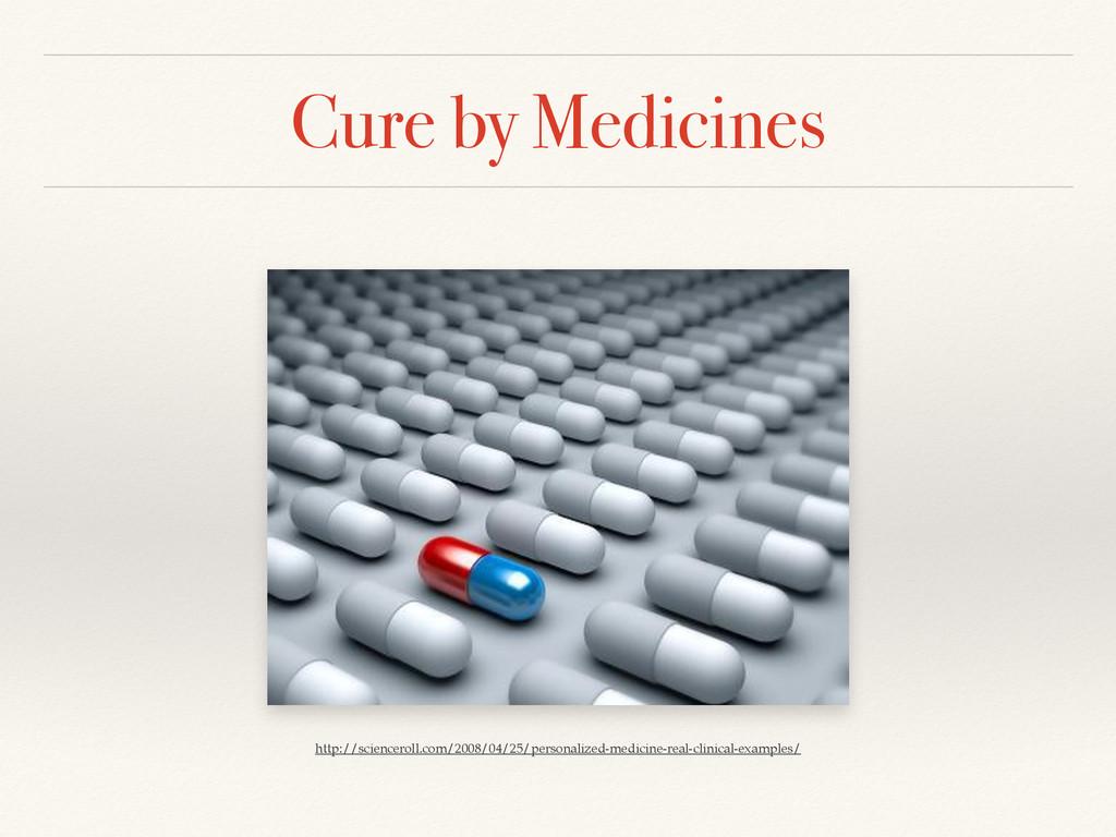Cure by Medicines http://scienceroll.com/2008/0...