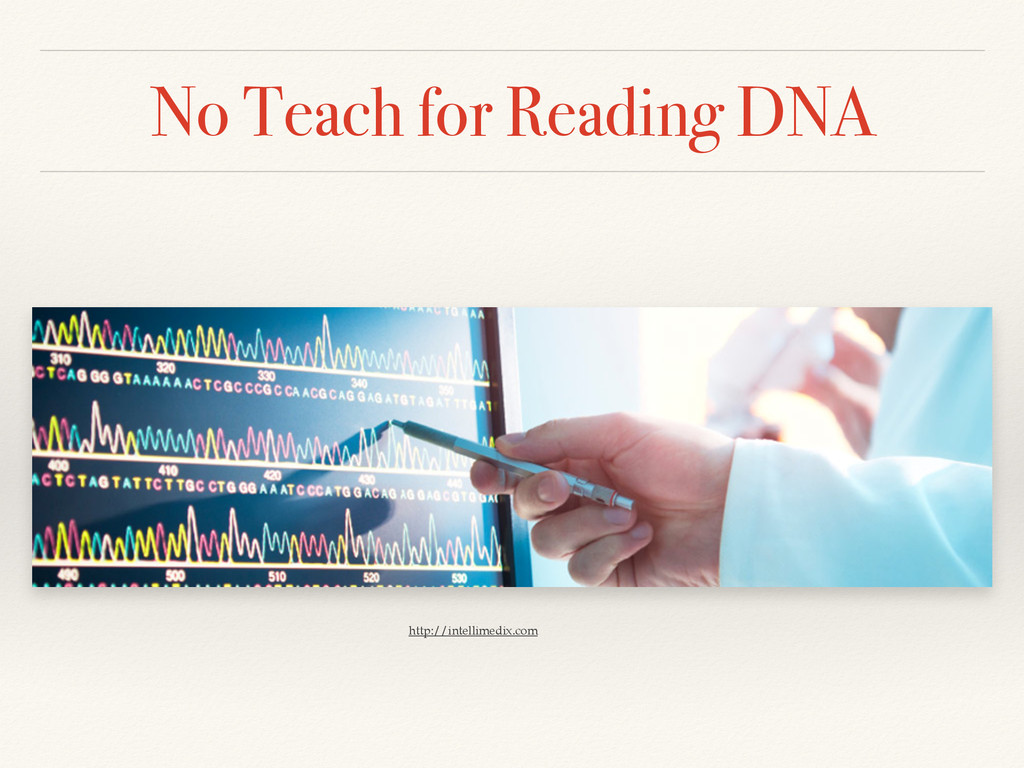No Teach for Reading DNA http://intellimedix.com