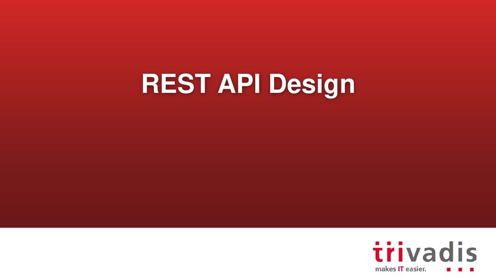 REST API Design