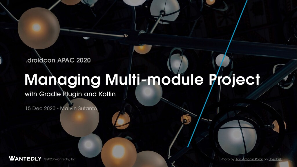 Managing Multi-module Android Project with Gradle Plugin and Kotlin