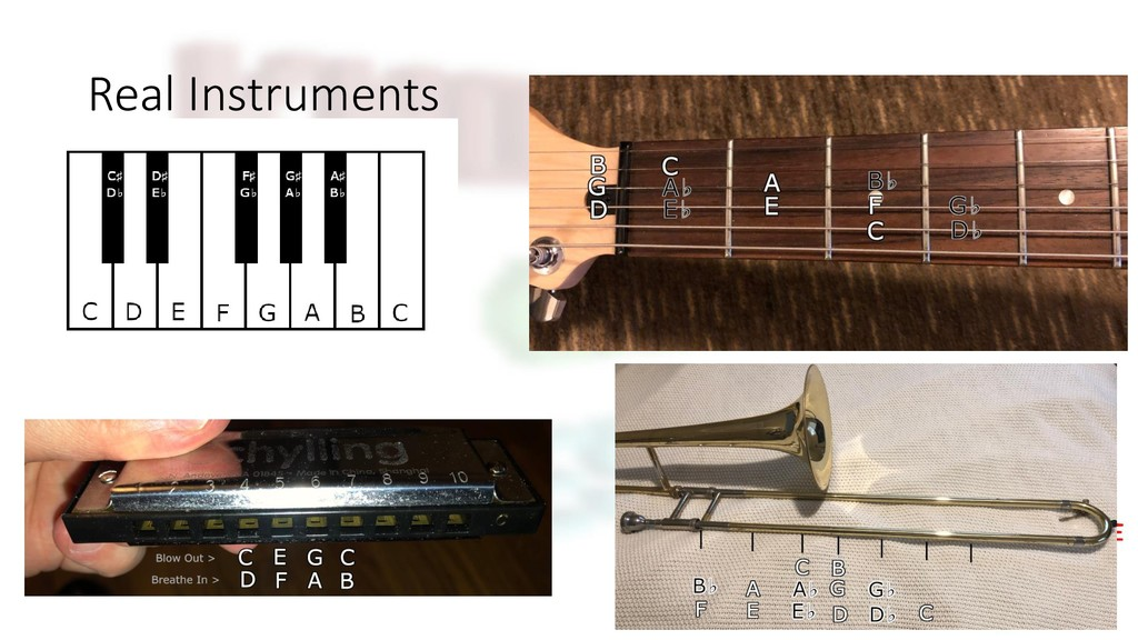 Real Instruments