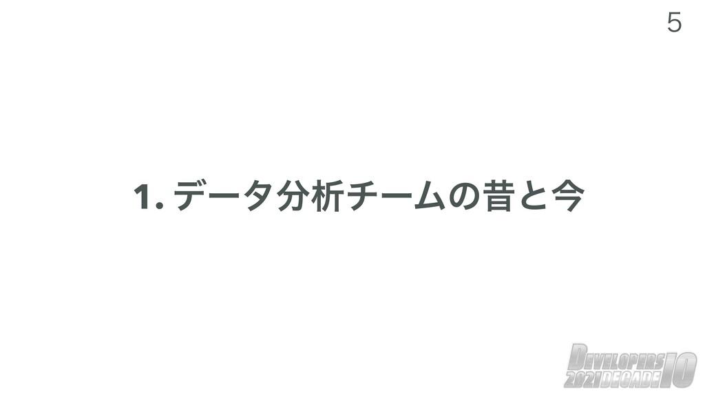 1. σʔλੳνʔϜͷੲͱࠓ