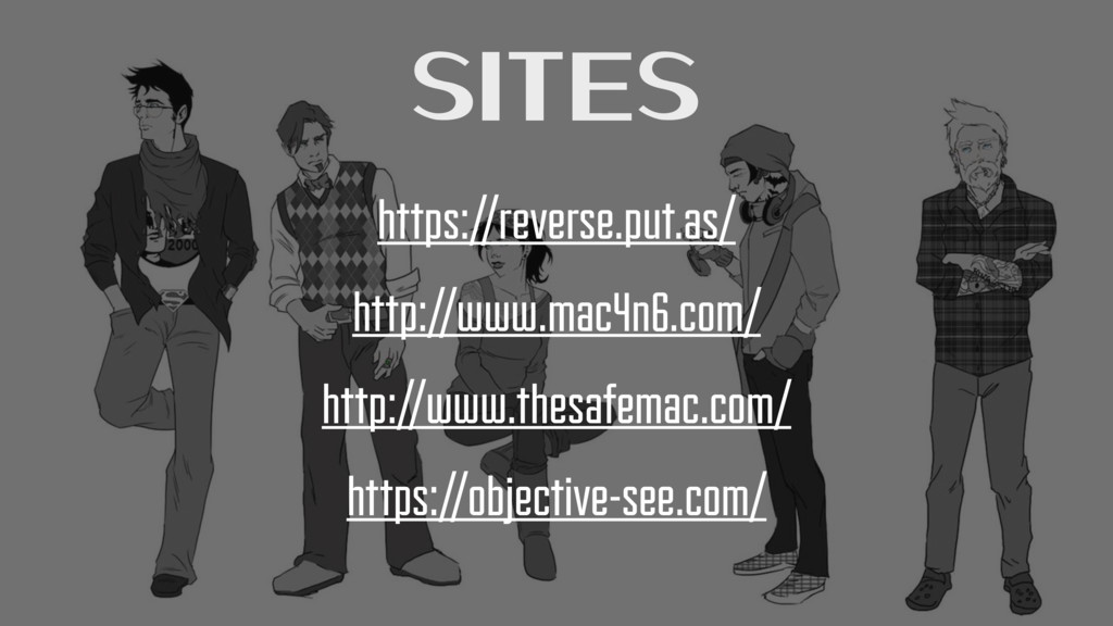 Sites https://reverse.put.as/ http://www.mac4n6...