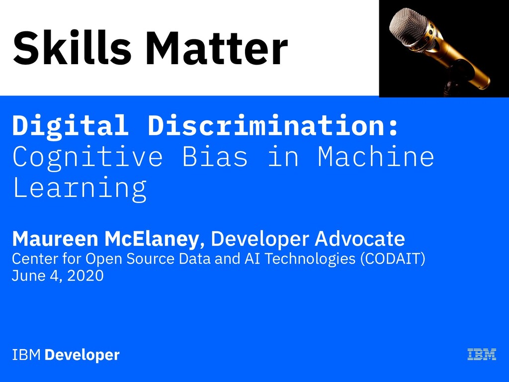 Skills Matter Digital Discrimination: Cognitive...