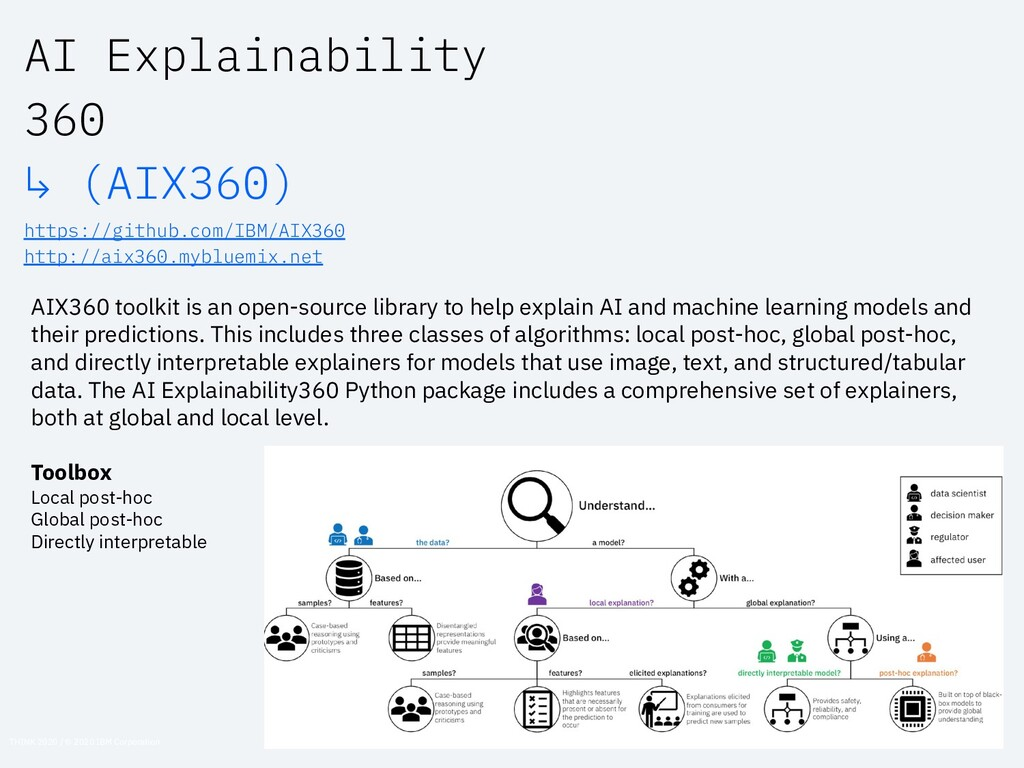 AIX360 toolkit is an open-source library to hel...