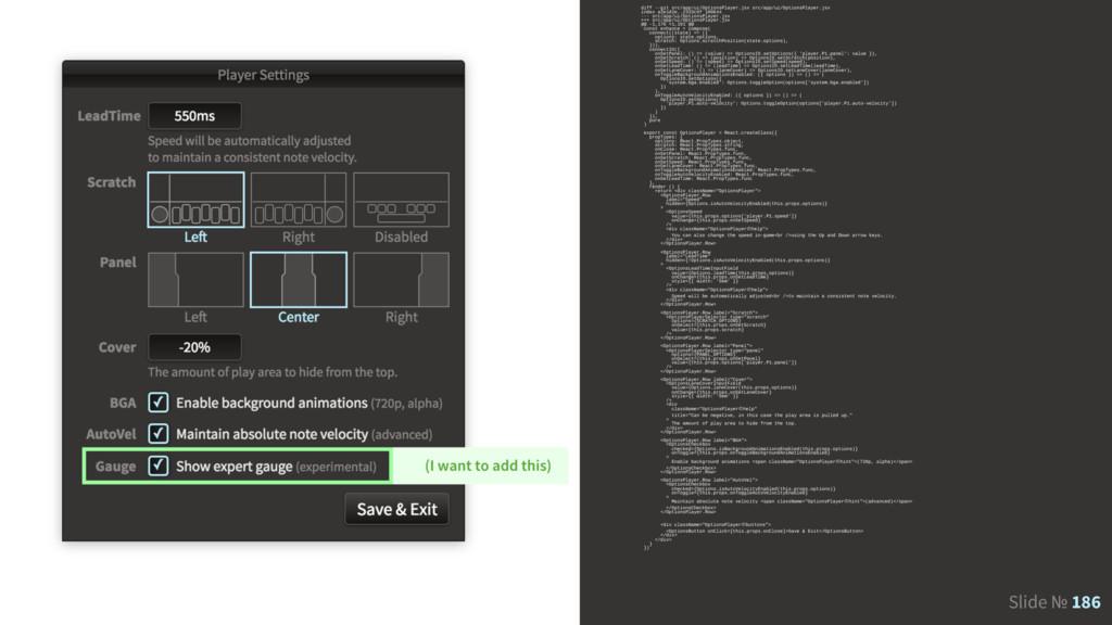 Slide № 186 diff --git src/app/ui/OptionsPlayer...